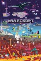 GBeye Minecraft World Beyond Poster 61x91,5cm