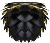 VITA Silvia Hanglamp - Ø45 cm - Zwart/goud - Losse lampenkap