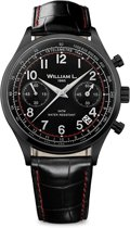 William L. 1985 WLIB01NRCNSR horloge heren - zwart - edelstaal PVD zwart