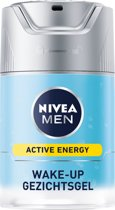 NIVEA MEN Active Energy Fresh Look Wake-Up - 50 ml - Gezichtsgel