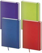 Kalpa 7121 - 4 Blocco notitieboekjes kleuren assorti