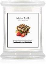 Classic Candle Medium Jar Belgium Waffle