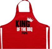 Vaderdag kookschort | rood, King of the BBQ