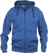 Clique - Sweatshirt met capuchon - Unisex - Maat L - Kobalt