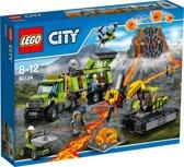 LEGO City Vulkaan Onderzoeksbasis - 60124
