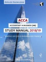 ACCA Accountant in Business Study Manual 2018-19