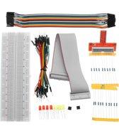49 Delige GPIO Starter Kit Raspberry Pi Compatibel - GPIO Starterset voor Raspberry Pi  - Mini Breadboard Raspberry Pi Geschikt