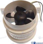 Ventilatie bilge Capaciteit 6400 l/min Volt 12V / 4,4A ?4'' = 102 mm. (GS31201)