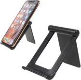 LENUO DL-19 Universele telefoon & tablet houder voor bureau - zwart