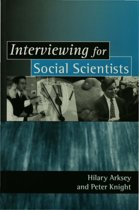 Interviewing for Social Scientists