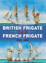 British Frigate vs French Frigate