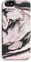 iPhone 5 / 5S / SE Volledig Geprint Hoesje - Roze stroom