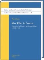 Max Weber in Context
