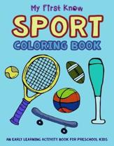 My First Know Sport Coloring Book