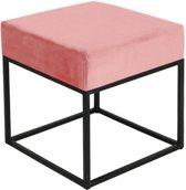 Kick Bijzettafel Cube - Roze 40x40