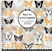 Familienotitieagenda 2020 Comello 'Vlinders' (harde kaft)