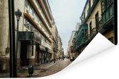 Van Historische Plaza Mayor in Lima Poster 120x80 cm - Foto print op Poster (wanddecoratie woonkamer / slaapkamer)