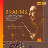 Brahms: 4 Symphonien 4-Cd