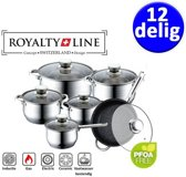Royalty Line pannenset - 12-delig