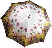 "Paraplu met bloemen en vlinder print ""Flower & Butterfly"""