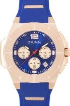 OTUMM New Speed II Rose Gold Blue Strap 45