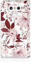 LG G6 Uniek Standcase Hoesje Watercolor Flowers