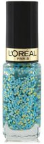 L'Oréal Color Riche - Nagellak Top Coat - 928 Oulala Blue