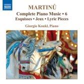 Martinu: Compl. Piano Music 6