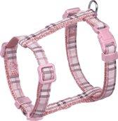 Nobby tuig geruit roze 20-35 x 1 cm - 1 st