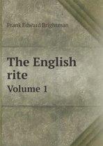 The English Rite Volume 1