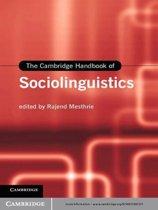 The Cambridge Handbook of Sociolinguistics