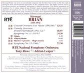 Brian: Symphonies 11+15