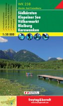 FB WK238 Süd Kärnten / Zuid-Karinthië • Klopein See • Völkermarkt • Bleiburg • Karawanken