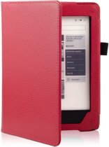 Shop4 - Kobo Aura H2O Hoes - Book Cover Lychee Rood