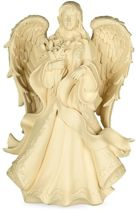 Yogi & Yogini naturals Urn Angel with Flowers (55 cm)