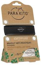 Parakito Anti-Muggen Armband Zwart + 2 navullingen