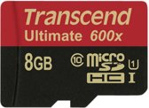 Transcend 8GB micro SDHC Class 10 UHS-I 600x (Ultimate)