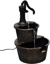 vidaxl fonteinpomp waterpartij 2 traps met sierpomp 40539