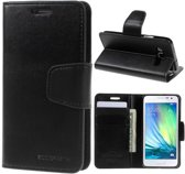 Goospery Sonata Leather case hoesje Samsung Galaxy Core Prime VE G361F zwart