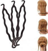 Haar style hulpstuk - Styling tool haarclip easy knotje donut bun knot maker