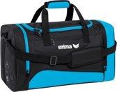 Erima Club 1900 2.0 Sporttas - licht blauw/zwart - 44 x 26 x 26 cm - S