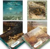 Set van 20 luxe Rien Poortvliet natuur-kerstkaarten (set 1)