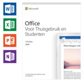 Microsoft Office Home & Student 2019 - Eenmalige aankoop - Nederlands