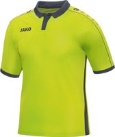 Jako - Jersey Derby S/S - lime/antraciet - Maat XL