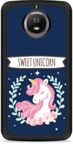 Moto G5S Hardcase Hoesje Sweet Unicorn