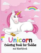 Unicorn Coloring Book for Toddles