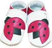 Starchild babyslofjes ladybug white