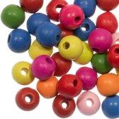 Houten Kralen (12 mm) Mix Color (50 stuks)