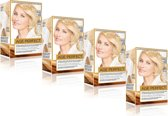 L'Oréal Paris Excellence Age Perfect Crèmekleuring 10.03 Extra Licht Goudblond - Haarverf - 4 Stuks Voordeelverpakking