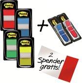 Value Pack : 4 x  Post-it® Index Standaard + 2 x  Post-it® Index Pijltjes